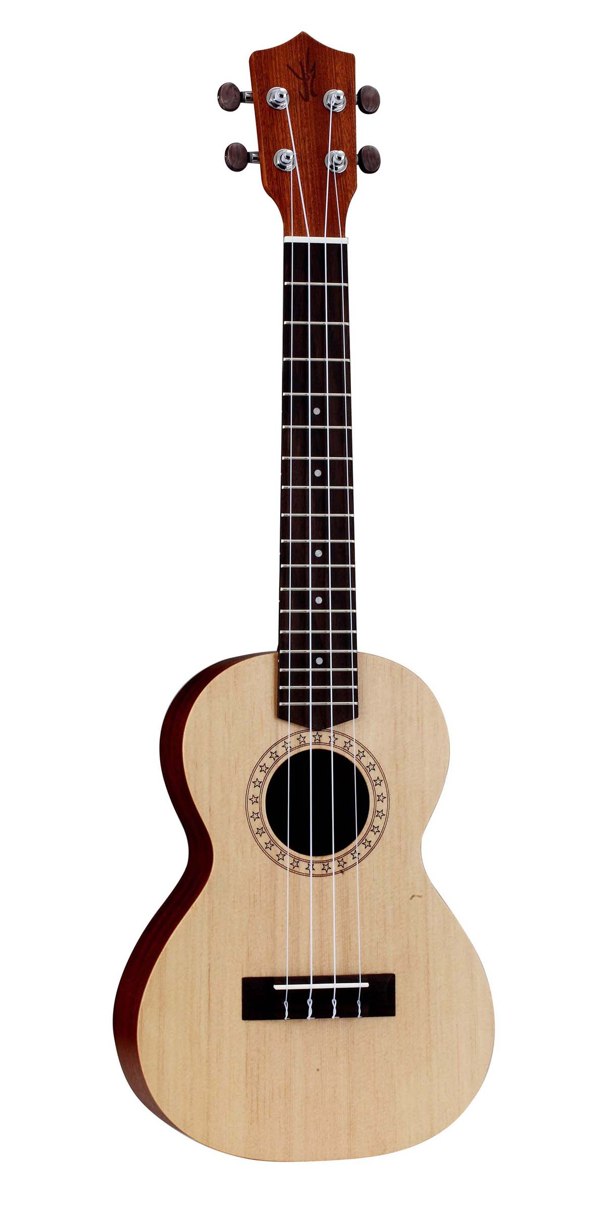 Laser-graving,Spruce Plywood,Tenor Ukulele