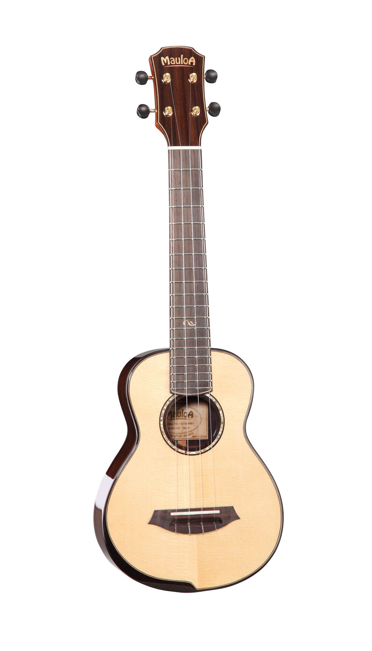 All Solid Spruce,Solid Rosewood,New Body Ukulele