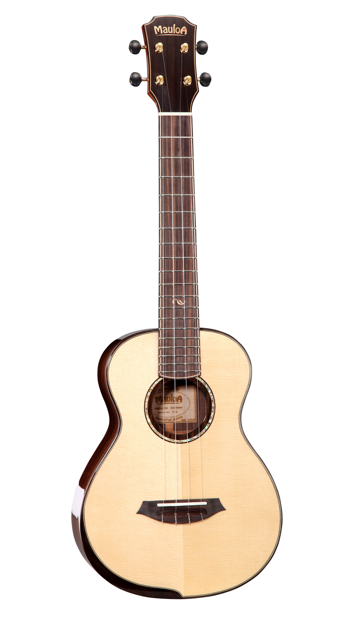 All Solid Spruce,Solid Rosewood,Tenor Ukulele