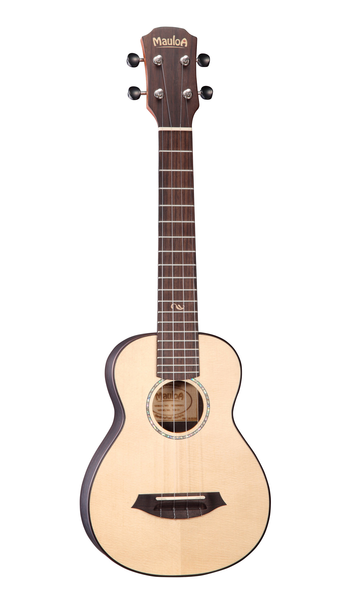 Top Solid Spruce,Rosewood Plywood,New Body Ukulele
